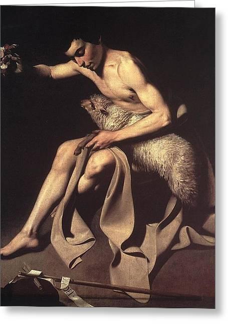 St John The Baptist Greeting Card