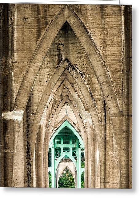 St. Johns Arches Greeting Card