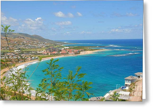 St. Kitts Greeting Card by Cindy Manero