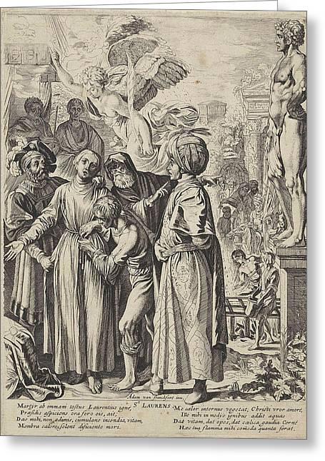 St. Lawrence, Pieter Claesz Greeting Card by Pieter Claesz. Soutman