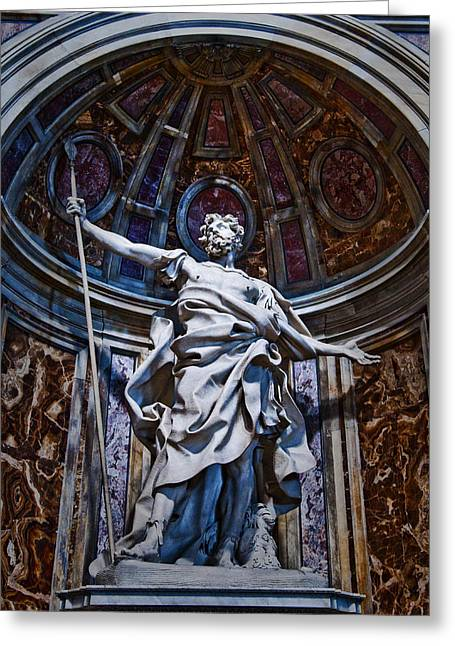 St Longinus Greeting Card