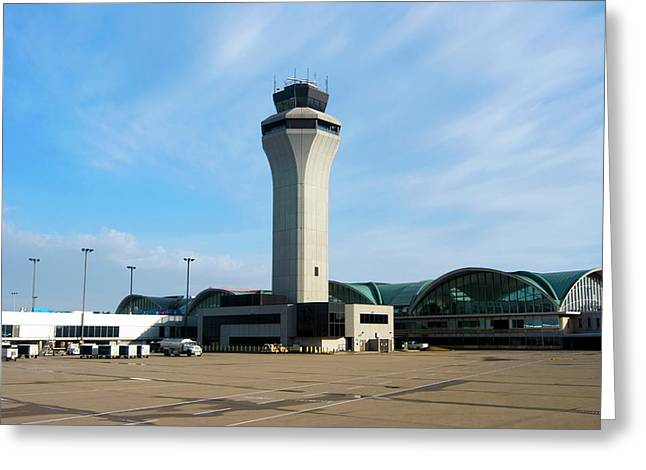 St. Louis Airport Greeting Card by Mark Williamson