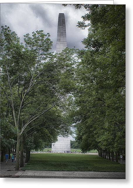 St Louis Arch Greeting Card