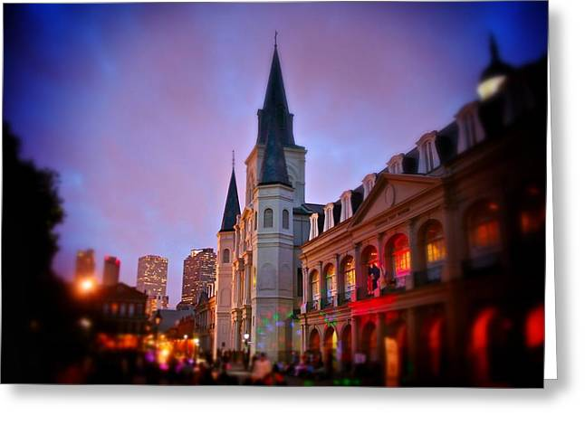 St. Louis Cathedral 3 Greeting Card