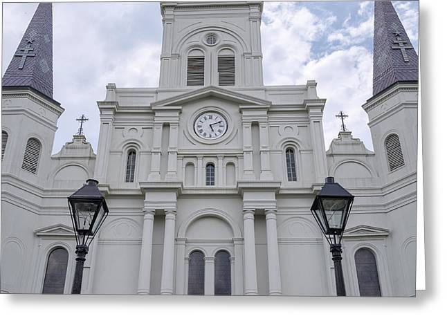 St. Louis Cathedral Close-up Greeting Card