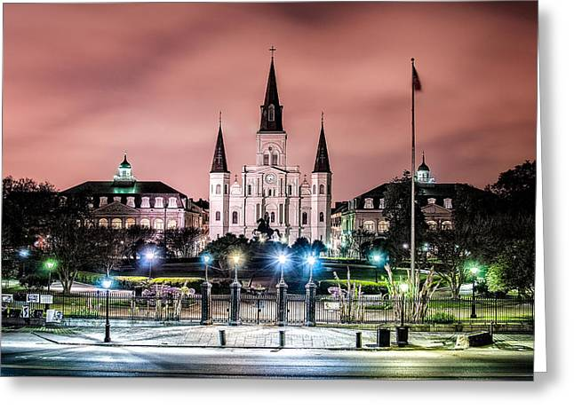 St. Louis Cathedral In The Morning Greeting Card