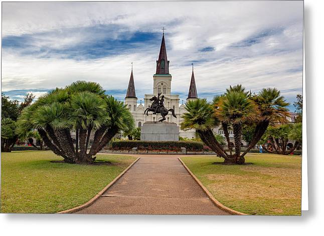 St. Louis Cathedral Iv Greeting Card