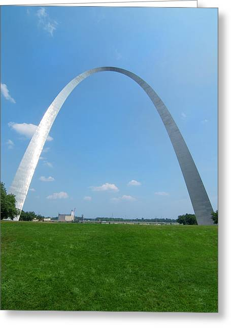 St Louis, Missouri, The Gateway Arch Or Greeting Card