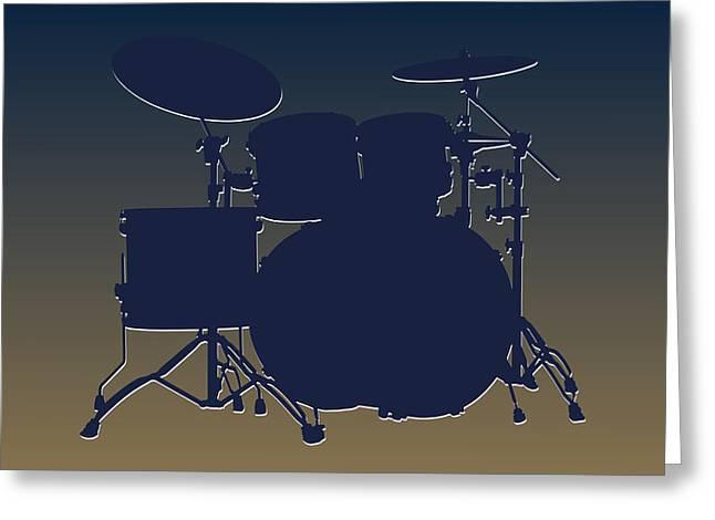 St Louis Rams Drum Set Greeting Card by Joe Hamilton
