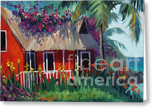 St. Lucia Greeting Card by Jason Abbott