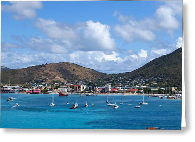 St. Maarten Greeting Card by Lois Lepisto