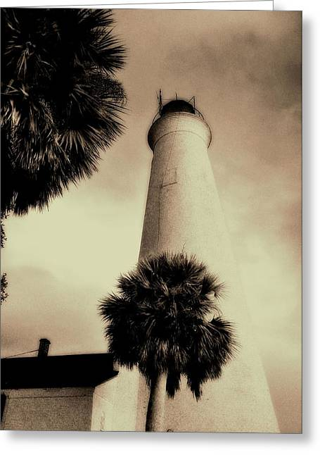 St. Marks Lighthouse Ll Greeting Card