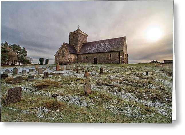 St Martha's On The Hill Greeting Card by Shirley Mitchell