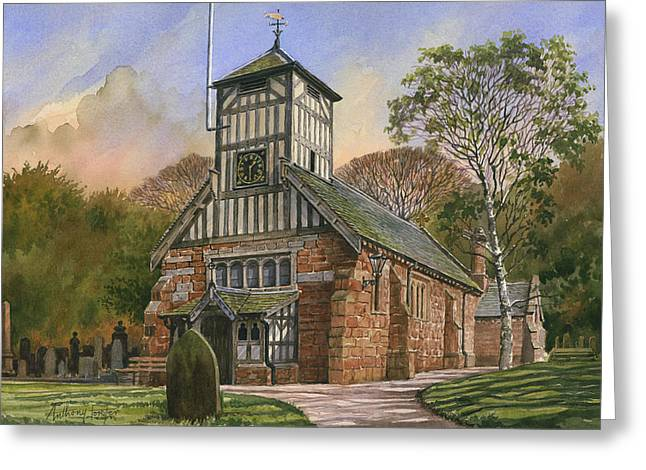 St. Mary And All Saints Greeting Card by Anthony Forster