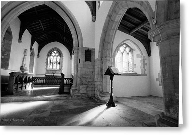 St. Michael's Church Greeting Card by Ross Henton