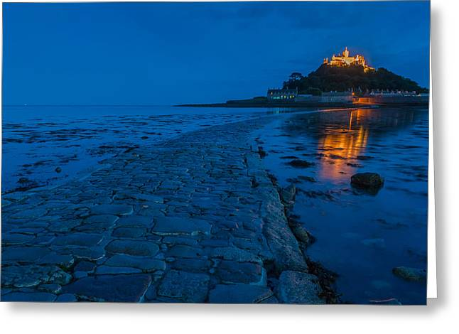 St Michaels Mount Greeting Card by David Ross