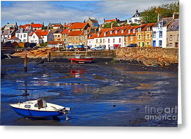Greeting Card featuring the photograph St Monans Fife by Craig B