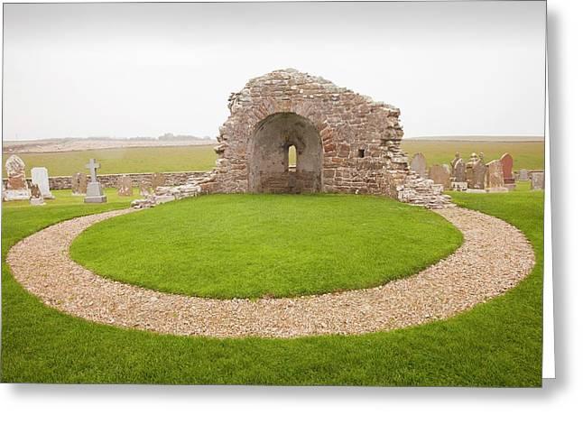 St Nicholas Roundchurch Greeting Card