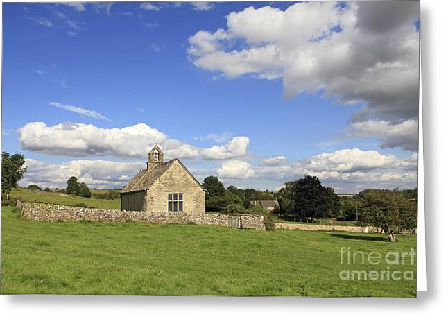 St Oswalds Chapel Oxfordshire Greeting Card