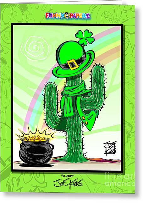 St. Paddy Greeting Card