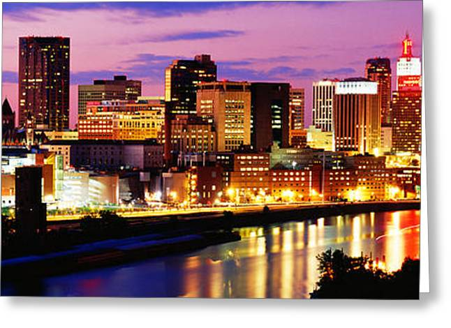 St Paul, Minnesota, Usa Greeting Card