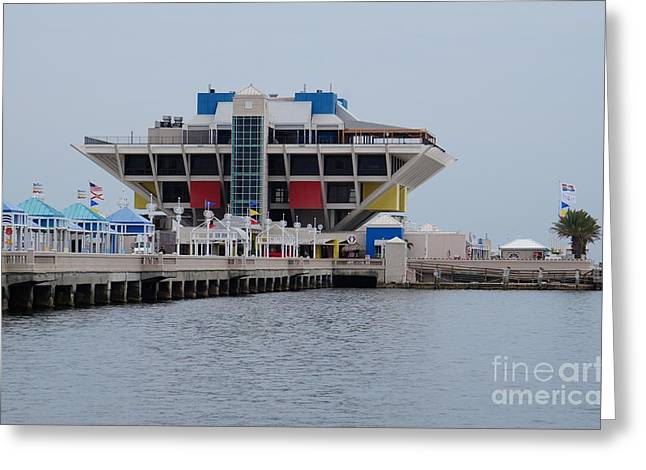 St. Pete Pier Greeting Card