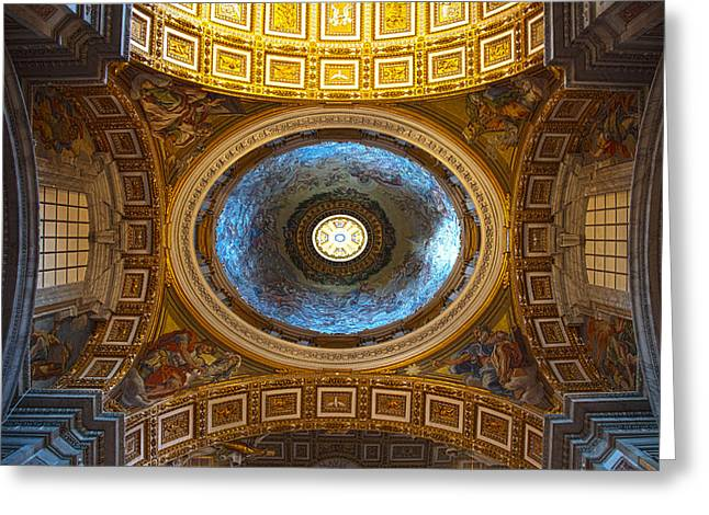St. Peter's Basilica Greeting Card