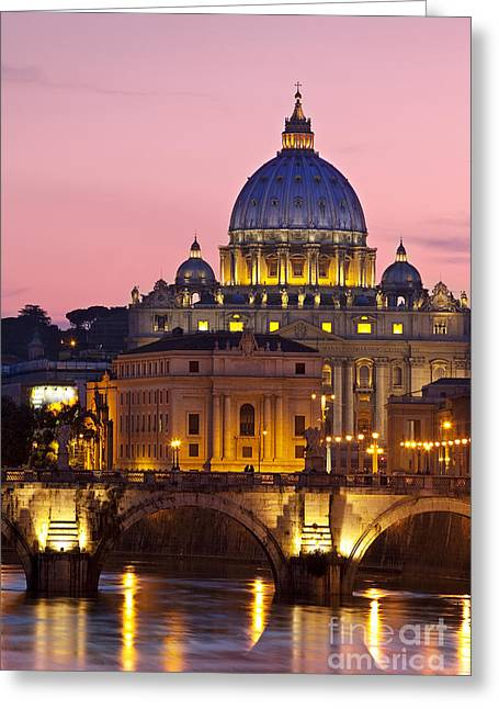 St Peters Basilica Greeting Card