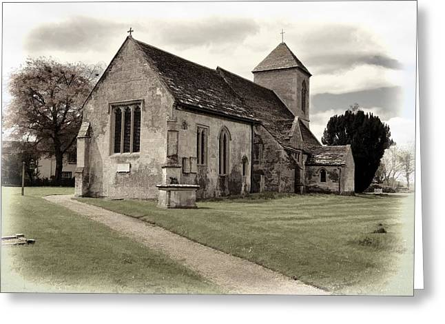 Greeting Card featuring the photograph St Peters Church 1 by Paul Gulliver