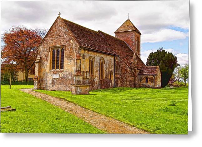 Greeting Card featuring the photograph St Peters Church 2 by Paul Gulliver
