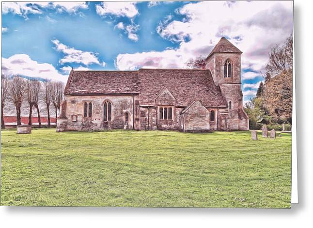 Greeting Card featuring the photograph St Peters Church 3 by Paul Gulliver