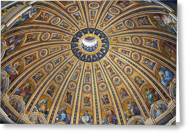 St. Peter's Cupola Greeting Card
