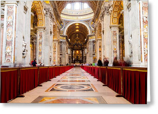 St. Peter's  Greeting Card by Tim Fitzwater