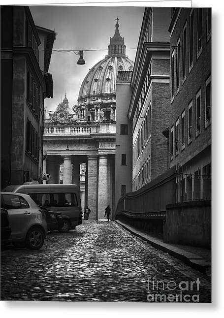 St Peters Vatican City Greeting Card