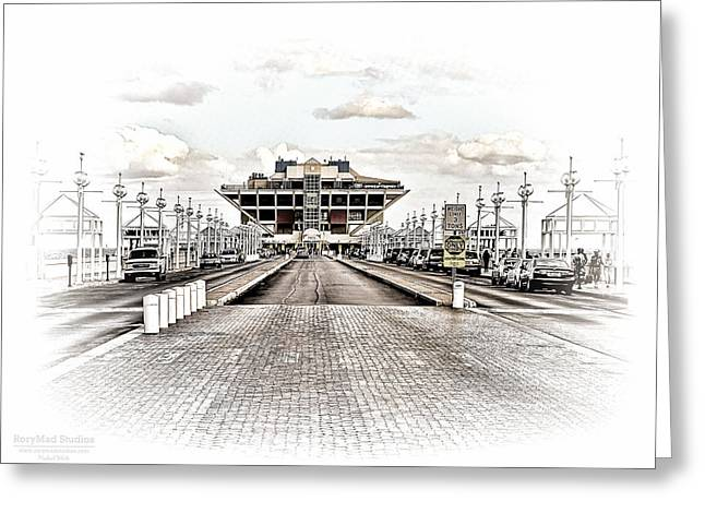 St. Petersburg Pier Dec 2011  Greeting Card