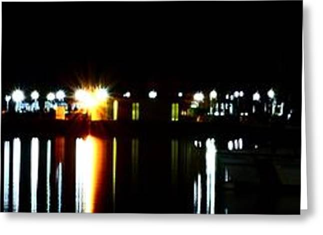 Greeting Card featuring the photograph St. Petersburg Pier Panorama by Richard Zentner