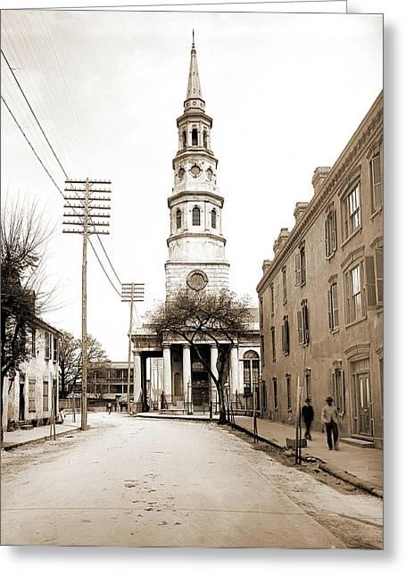 St. Philips Church, Charleston, S.c Greeting Card