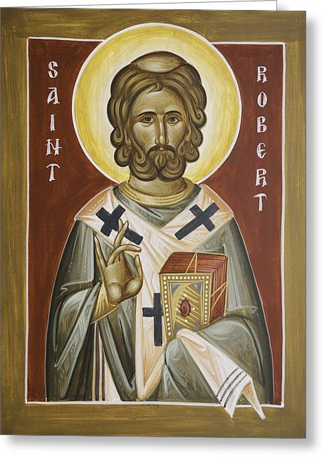 St Robert Greeting Card