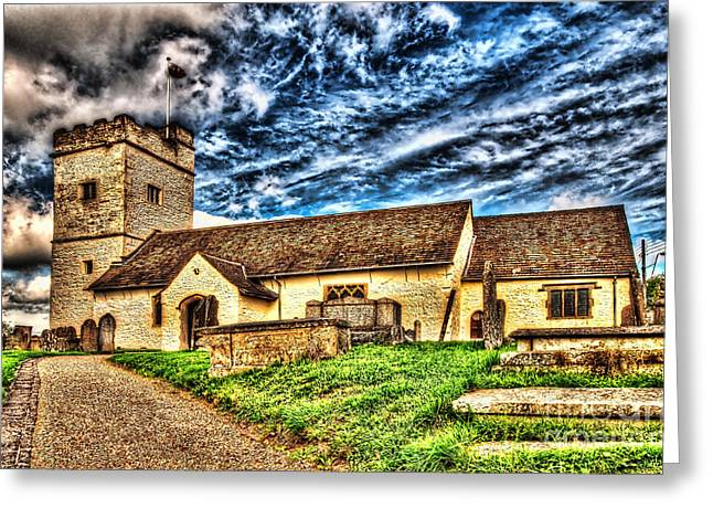St Sannans Church Bedwellty Greeting Card by Steve Purnell
