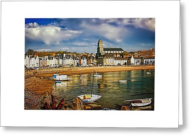 Saint Servan Anse Greeting Card