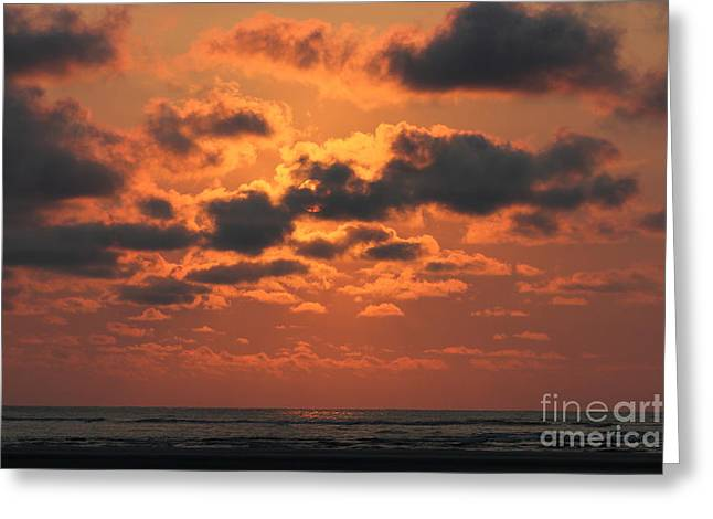 St Simons And Sea Island Sunrise Greeting Card by Reid Callaway