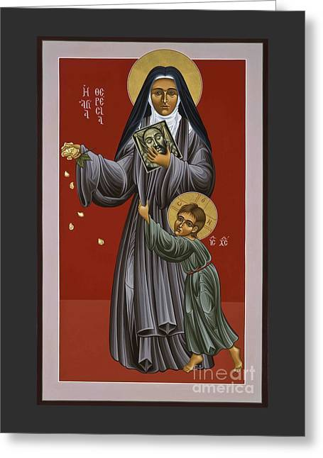 St. Therese Of Lisieux Doctor Of The Church 043 Greeting Card