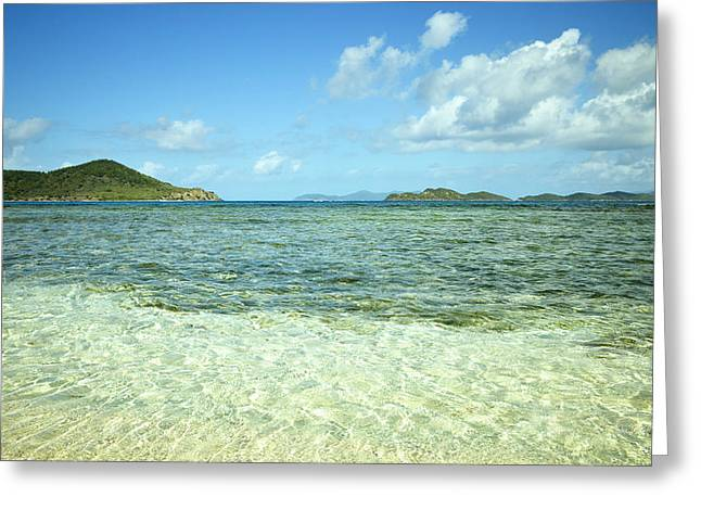 St. Thomas Beach Delight Greeting Card