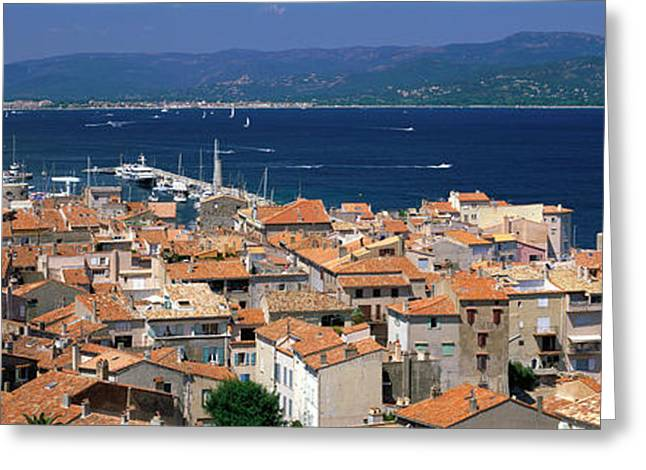 St Tropez, France Greeting Card by Panoramic Images