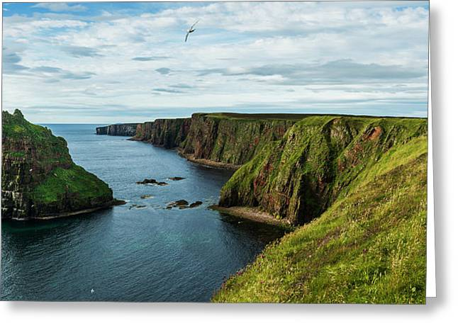 Stacks Of Duncansby And The Rugged Greeting Card