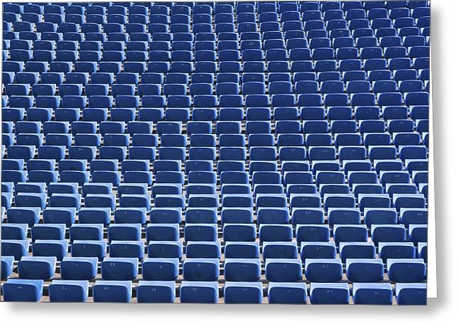 Stadium - Seats Greeting Card