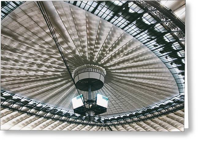 Stadium Ceiling Greeting Card by Pati Photography