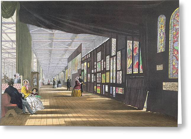 Stained Glass Gallery, From Dickinsons Greeting Card
