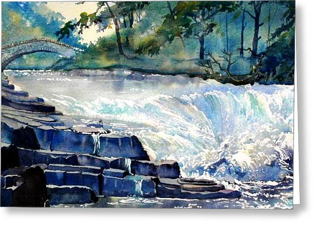 Stainforth Foss Greeting Card