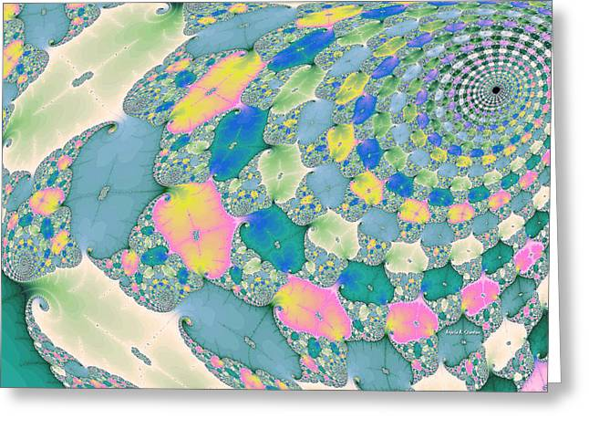 Staircase To Heaven Greeting Card by Angela A Stanton